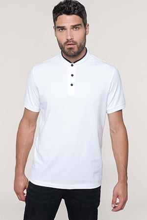 Polo col mao manches courtes homme Kariban K223 2019