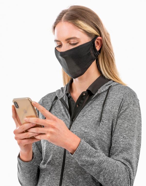 masque à personnaliser noir